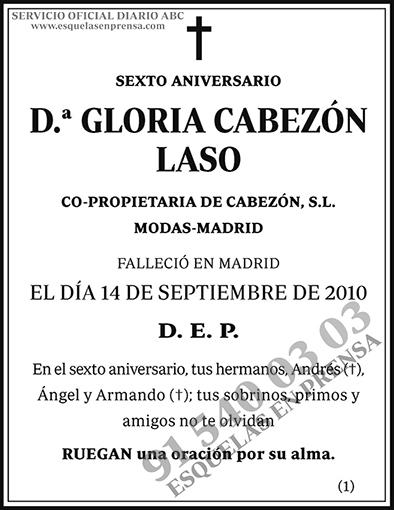 Gloria Cabezón Laso